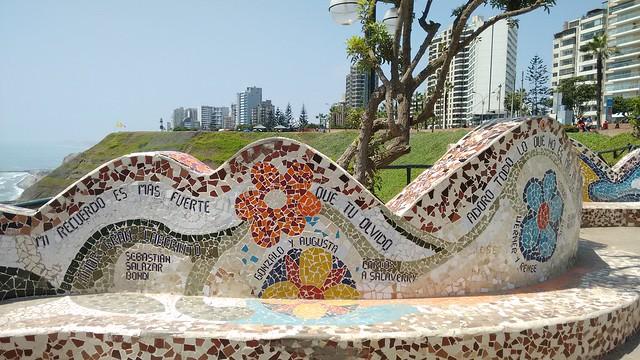 Parque del Amor, Malecón Cisneros, Miraflores, Lima, Peru
