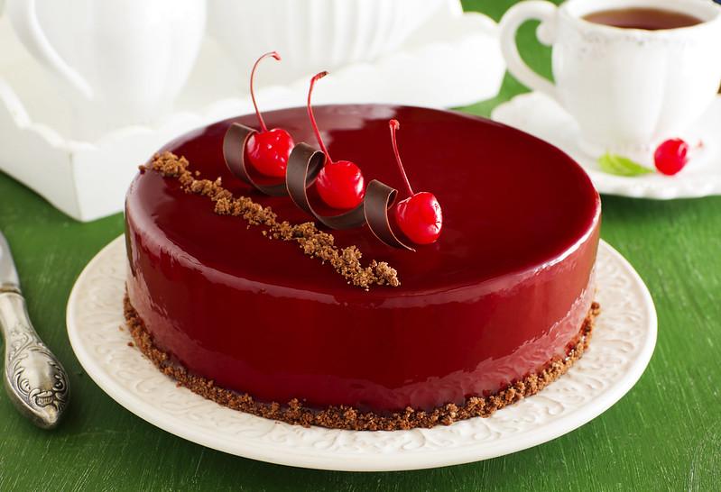 рецепт глазури для торта без масла