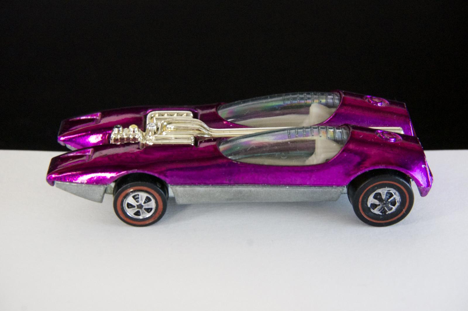 Hot Wheels Redline Magenta Splittin Image