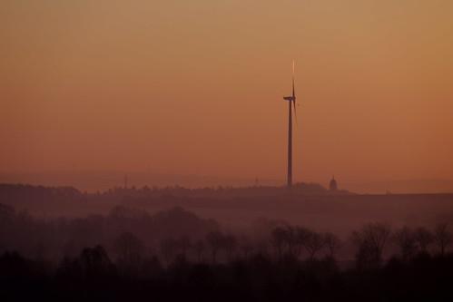 sunrise & wind generator