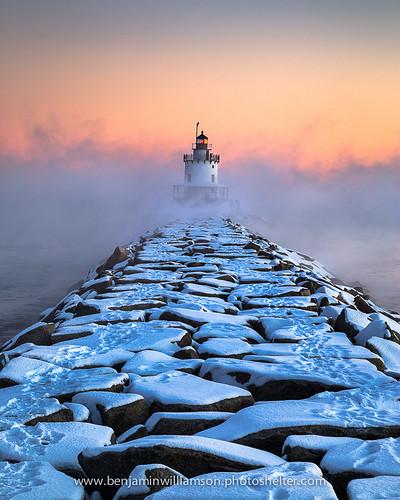 Spring Point Ledge Sea Smoke