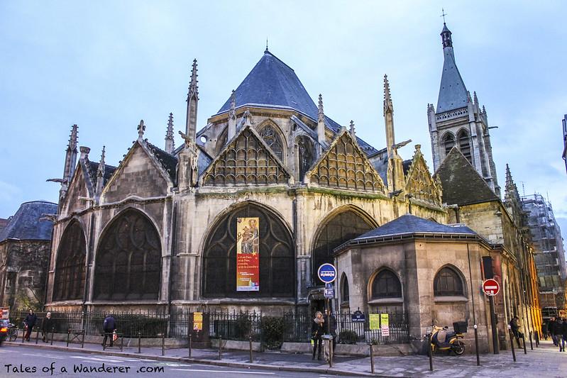 PARIS - Église Saint-Séverin