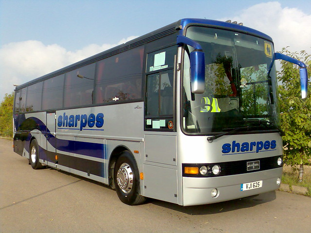 Photos of VJI625, as we know her, when she was with us at Sharpes of Nottingham.