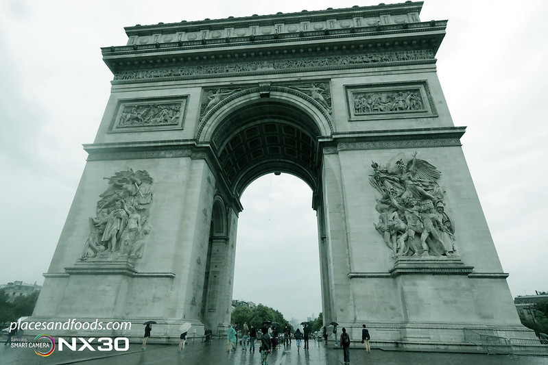 paris Arc de Triomphe full