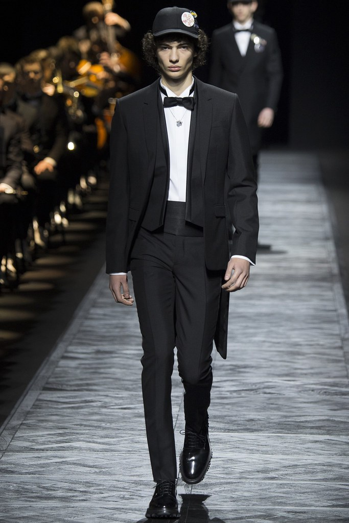FW15 Paris Dior Homme004_Piero Mendez(VOGUE)