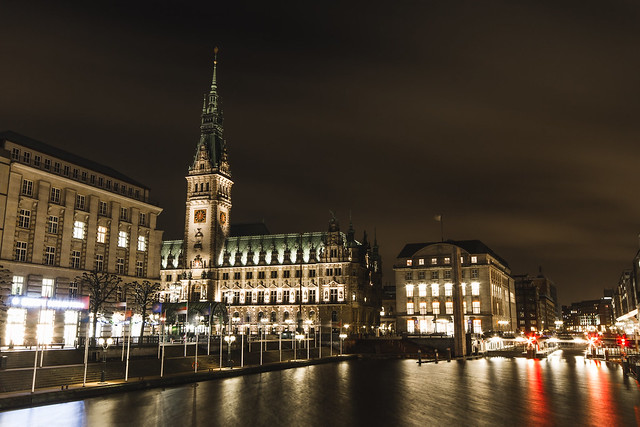 [291] Hamburg by Night