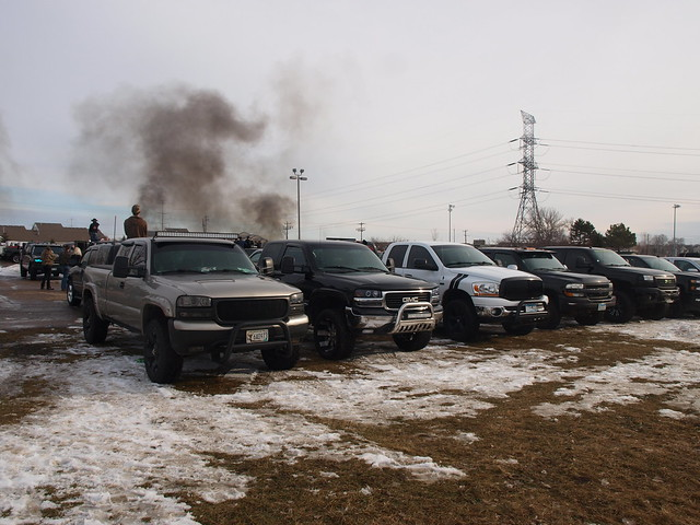 Lifted Trucks Minnesota January Meet 062
