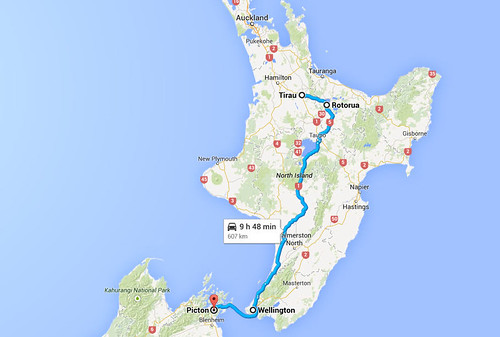 Tirau to Picton