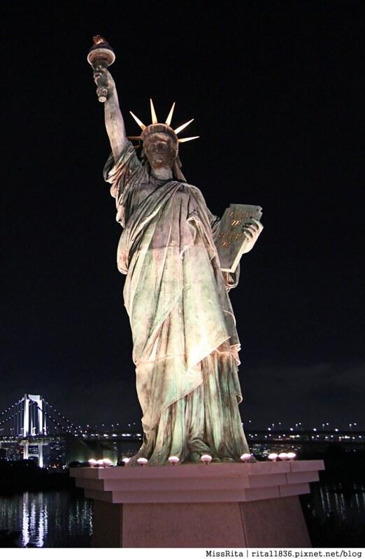 日本台場 鋼彈 彩虹大橋 自由女神 景點19