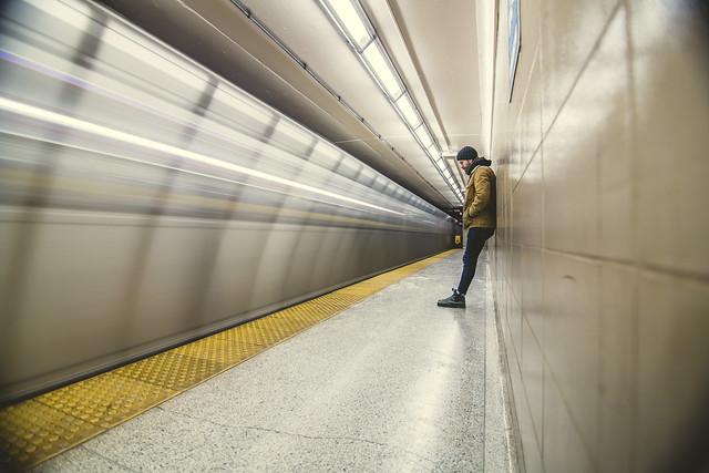 subway stop fun