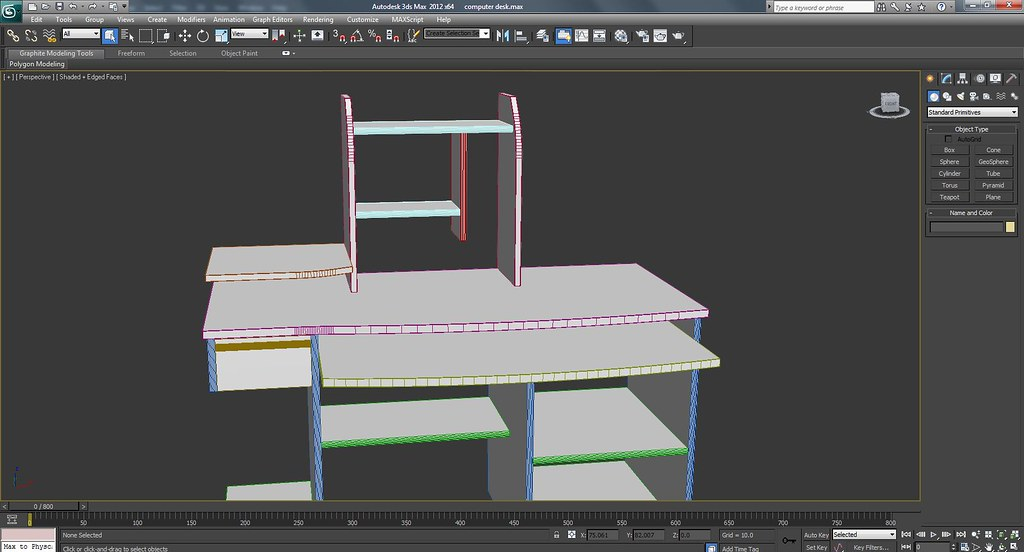 Computer Desk Work In Progress Wire Frame Screenshots