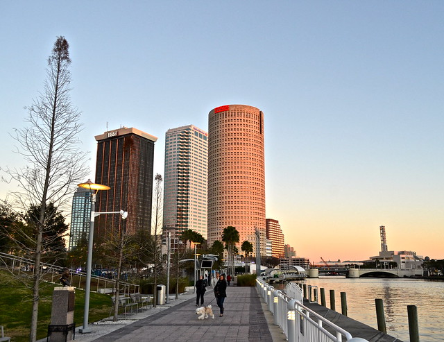 river front walk in tampa