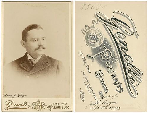 Jacob Bongner. Sept 21, 1892.