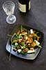 Salade de choux de Bruxelles rôtis