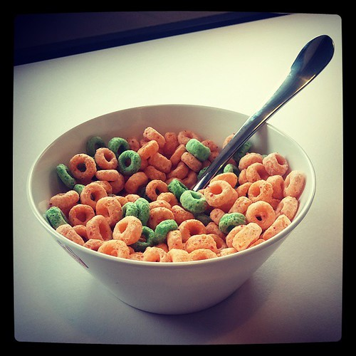 Forget what you heard about Wheaties, Apple Jacks are the true breakfast of champions.