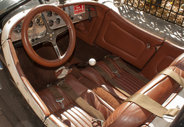 1954 Kurtis 500S Roadster Interior