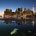 Frozen New York Harbour by Globalviewfinder