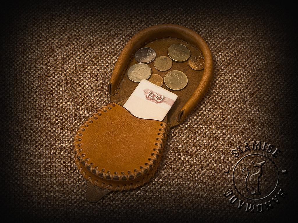 Монетница своими руками выкройка