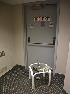 The Blocking of the Fire Exit