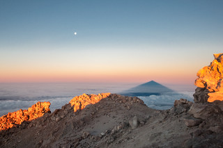 Sunrise from Mount Teide