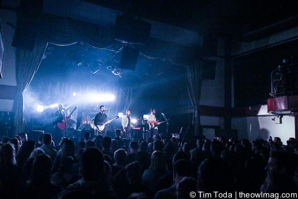 Milo Greene @ The Bowery Ballroom, NYC 3/12/15