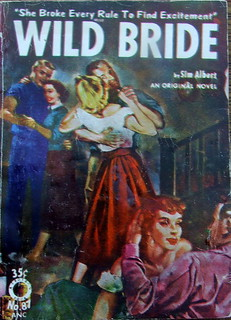 Wild Bride - Croydon Book - No 87 - Sim Albert - 1954