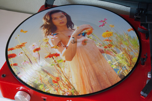 Katy Perry PRISM Picture Disc Side A