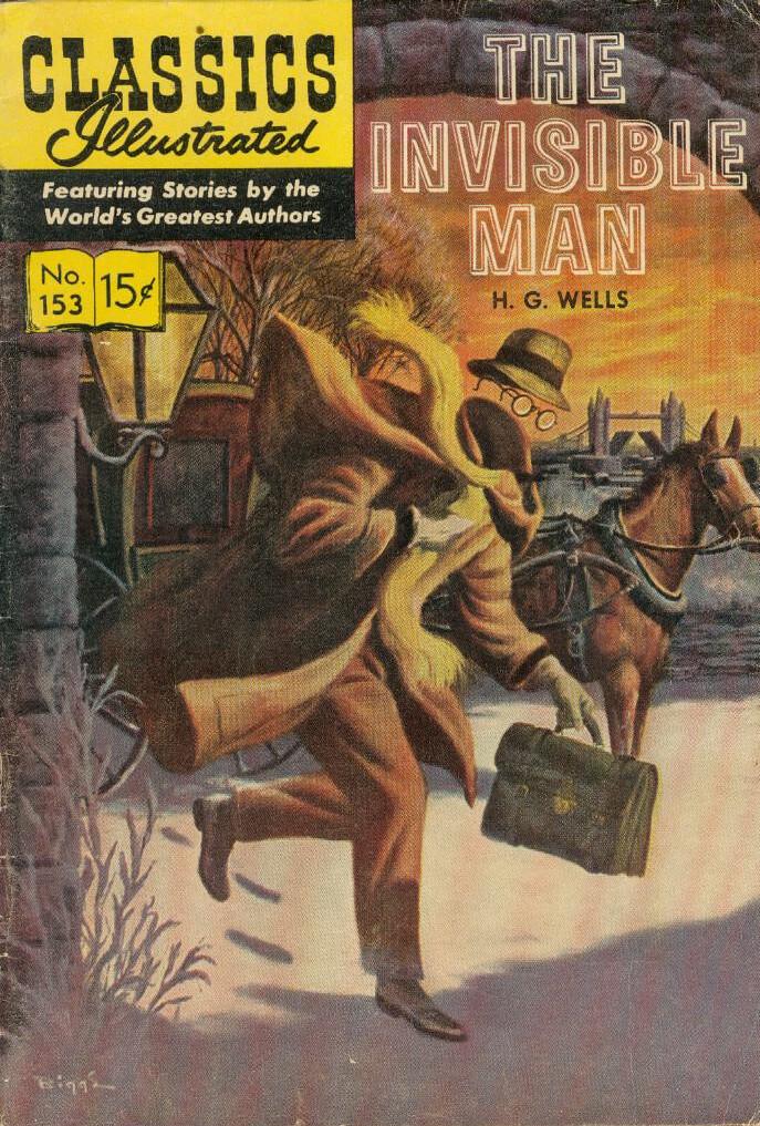 Classics Illustrated Invis Man cover