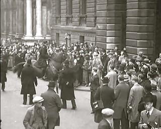 December 1936. Downing Street, Westminster, London, SW1. UK.