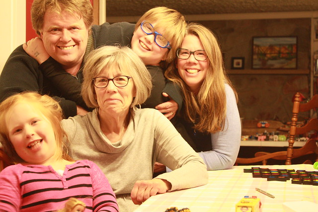Self-Timer Family Portrait