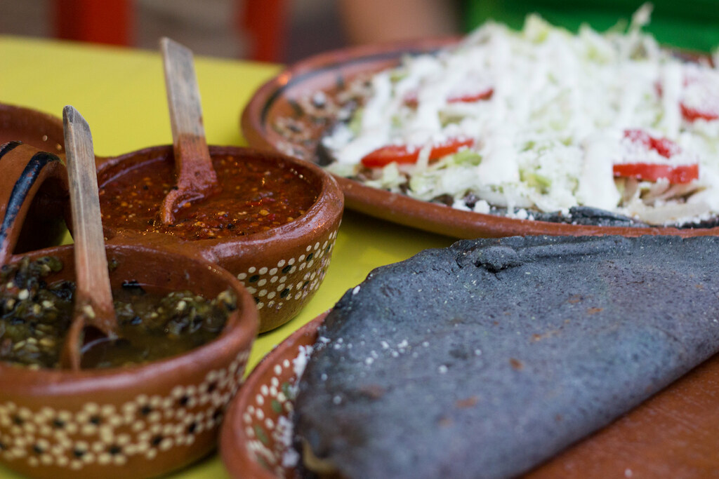 ruokaa, Sayulita, Meksiko