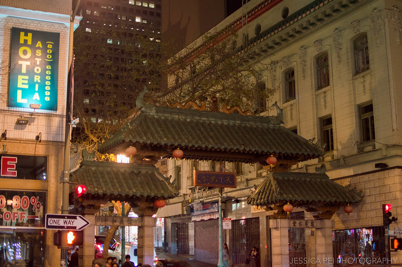 Chinatown San Francisco Entrance