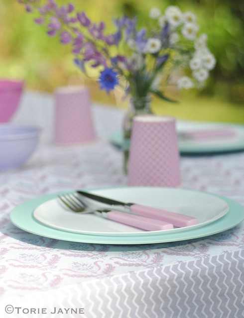 Handmade tablecloth