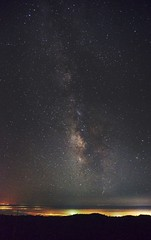Milky Way over Santa Cruz