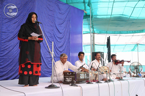 Devotional song by Savita from Sant Nirankari Colony, Delhi