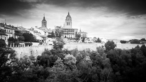 "Segovia, Spagna from the book ""Per chi suona la campana"" by Ernest Hemingway"