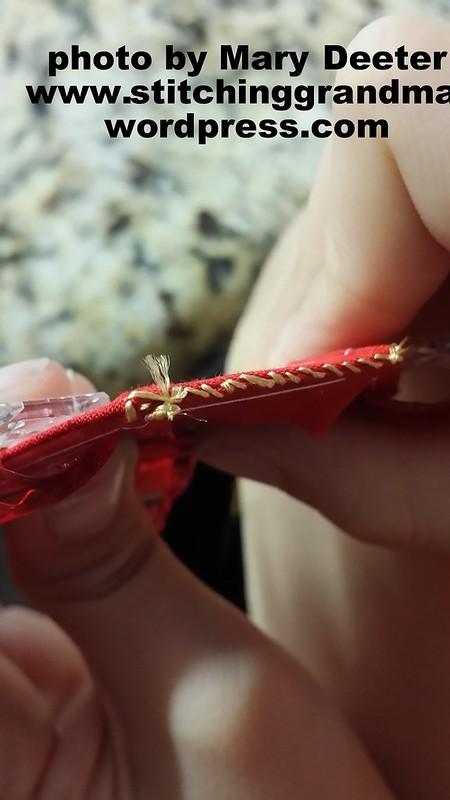 whip stitching