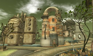 Little Town by Cica Ghost