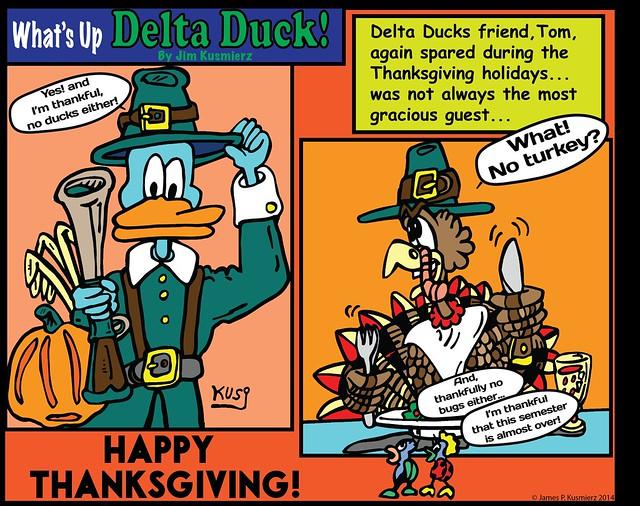 Delta Duck – Happy Thanksgiving!
