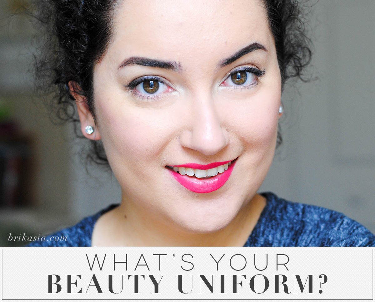 What's Your Beauty Uniform, go-to makeup for busy people