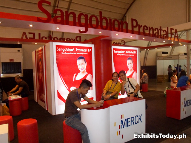 Sangobion Prenatal FA Trade Show Display