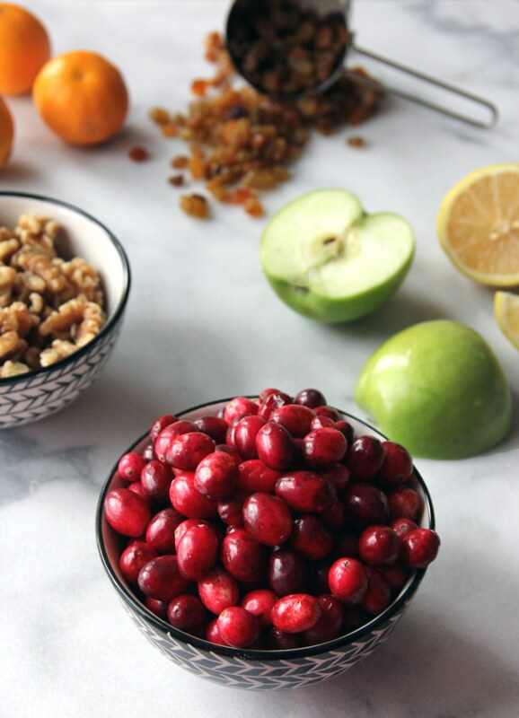 Cranberry & Clementine Conserve