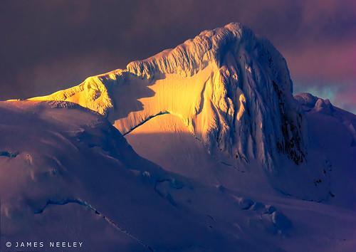 sunrise landscape antarctica spotlight jamesneeley