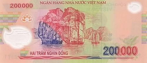 Vietnam 200,000 bill