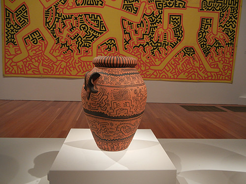 DSCN9646 _ Keith Haring The Political Line, De Young, 27 Dec 14