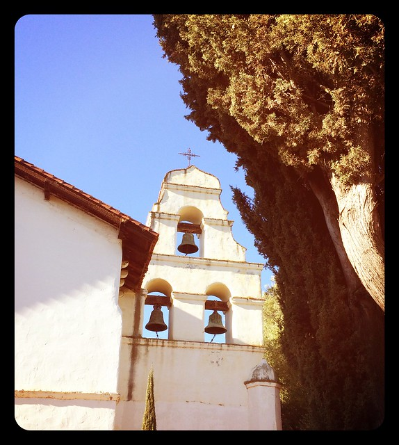 Mission bells of San Juan Bautista.