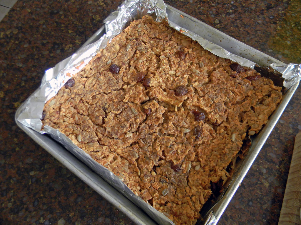 Apple-Grain Squares