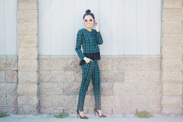 light in the box, zerouv,trendy,spring trends,fashion trends,street style,plaid pant suit,zara,zara style,lucky magazine contributor,fashion blogger,lovefashionlivelife,joann doan,style blogger,stylist,what i wore,my style,fashion diaries,outfit,ootd magazine,fashion climaxx