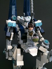 Lego Custom Mecha: Caliburn