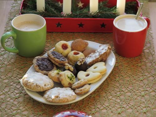 Kaffee mit Weihnachtsplätzchen am 3. Advent